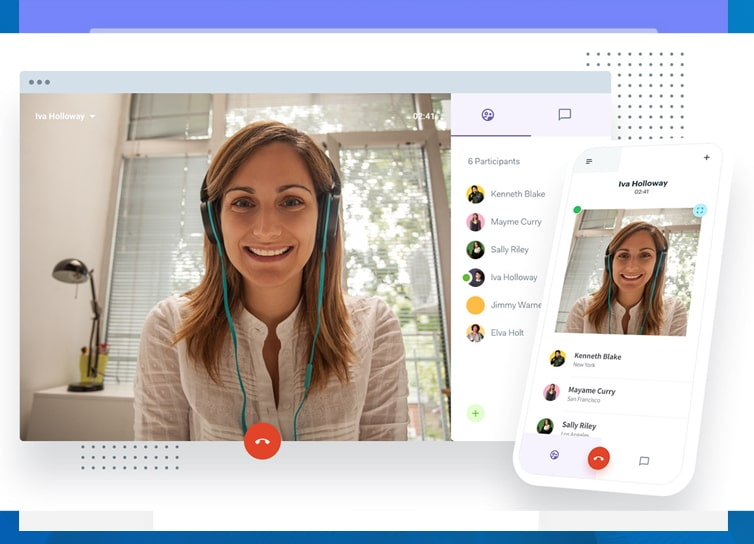 Video Conferencing mobile software solution